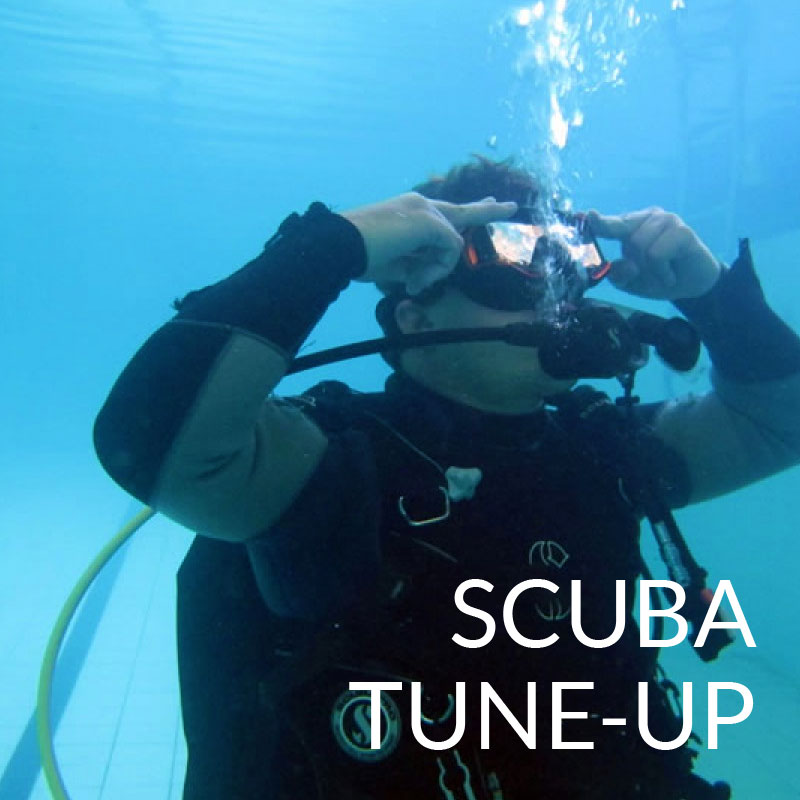 scuba tune up puerto galera