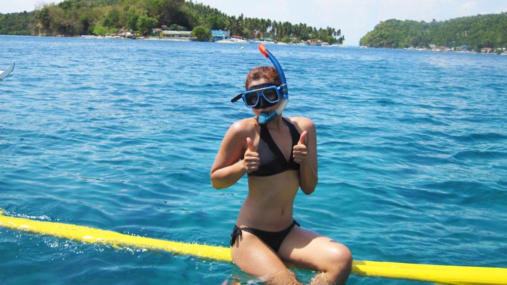 snorkeling puerto galera philippines