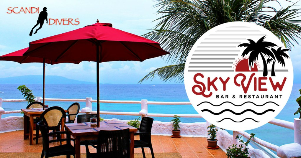 sky view bar and restaurant puerto galera