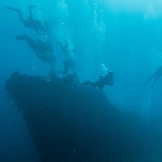 naui wreck diver