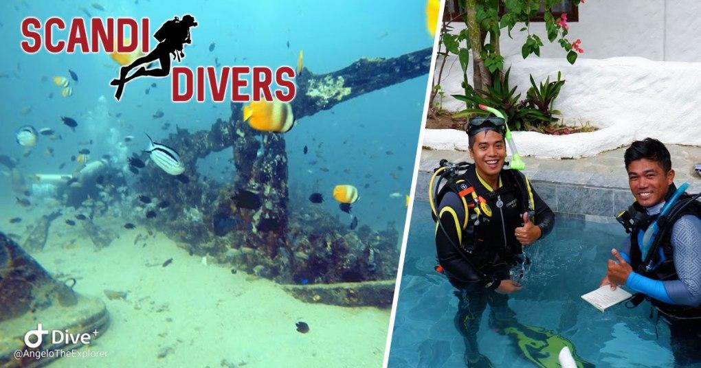 angelo the explorer scandi divers resort puerto galera