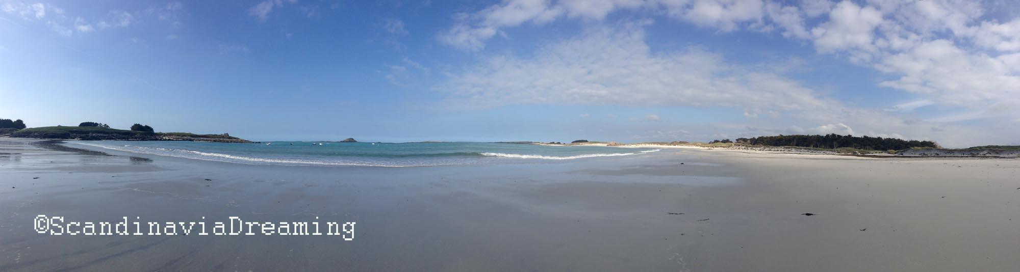 La plage où j'ai grandi, en Bretagne. On sait ce que l'on quitte, mais pas forcément ce que l'on va trouver...