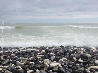 Mon Island cobble beach