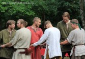 Rope pulling game Viking games 2014 Preparation and strategy