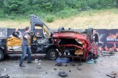 Car crashing Copenhell