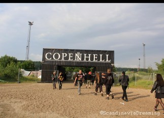 Copenhell 2014 entrance gate