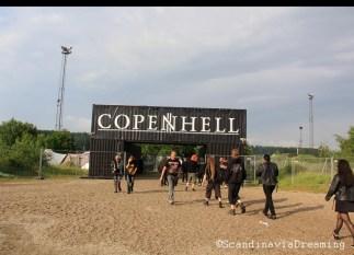 Copenhell 2014 entrance gate