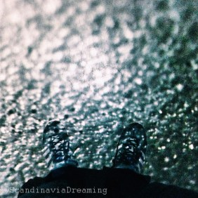 From where I stand in the rain