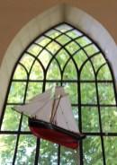 Ex-voto maritime de l'église de Nyord