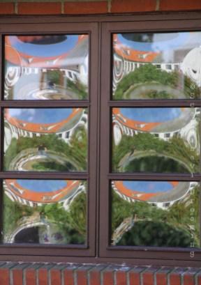 Fenêtre typique du village de Nyord