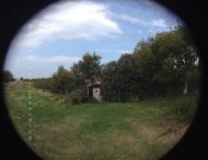 Maison cachée dans les buissons à la pointe de Kullaberg