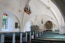 Nef de l'église de Bogo
