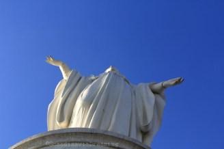 Statue de la Vièrge Cerro San Bernardo