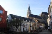 Petite place dans les alentours de la cathédrale d'Aachen