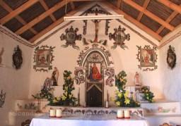 Eglise dans le désert d'Atacama
