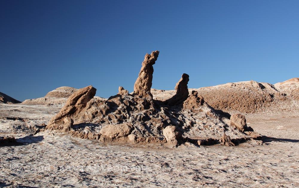 Las tres Marias désert d'Atacama