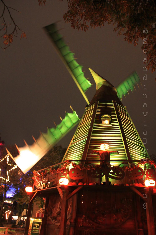 Moulin d'Halloween à Tivoli