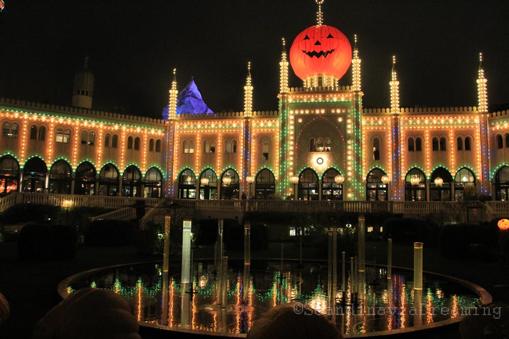 palais de tivoli de nuit - Jardins De Tivoli