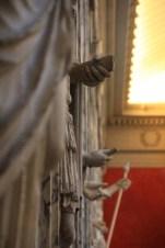 Statues antiques de la galerie de la salle de spectacles de la Glyptotek