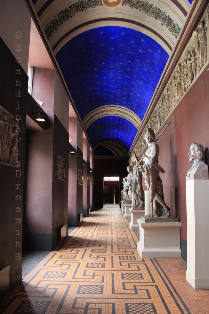 Galerie du musée Thorvaldsen
