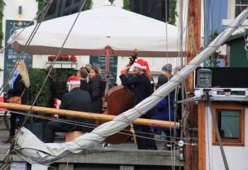 Jazz de Noël à Nyhavn