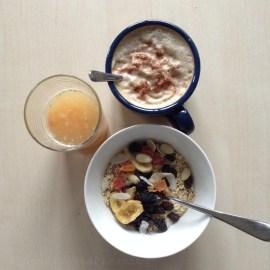 Petit-déjeuner de champion