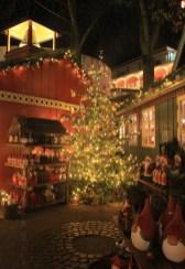 Sapin de Noël à Tivoli