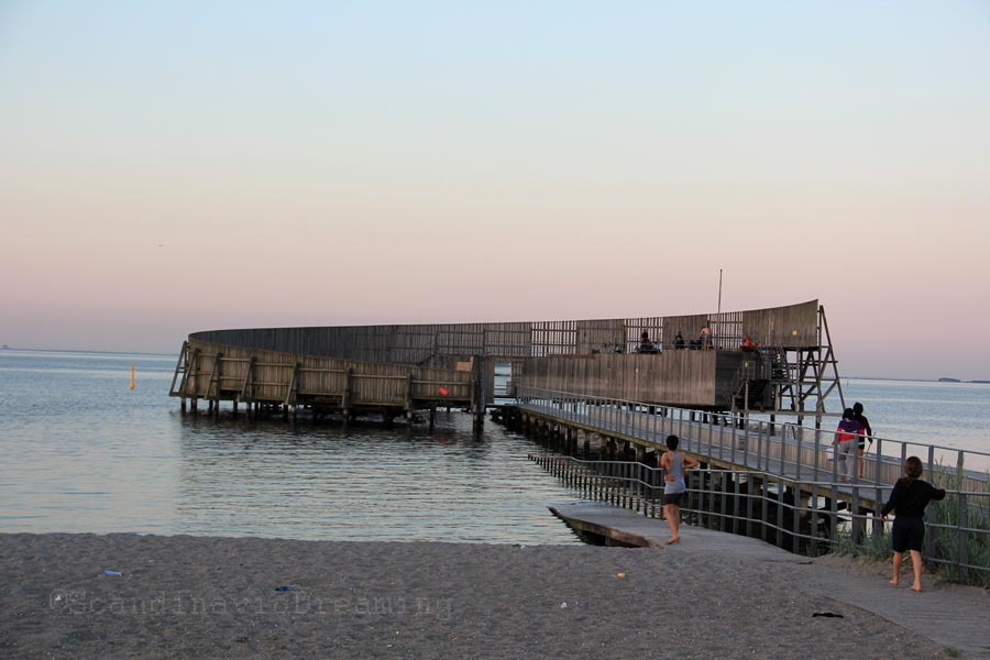 Amager strand - Le bain de soleil hélicoïdal