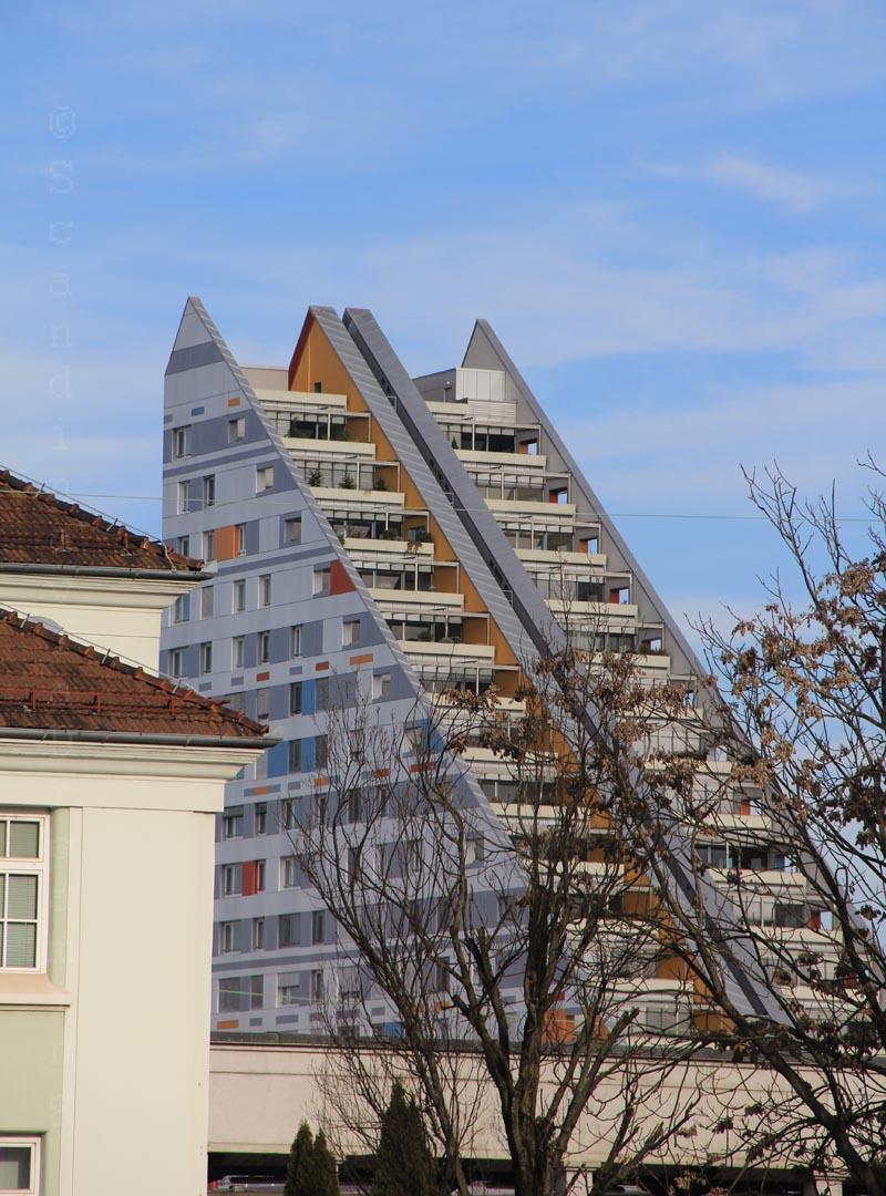 Architecture moderne à Ljubljana
