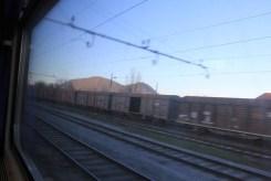 Dans le train entre la Slovénie et l'Autriche (1)