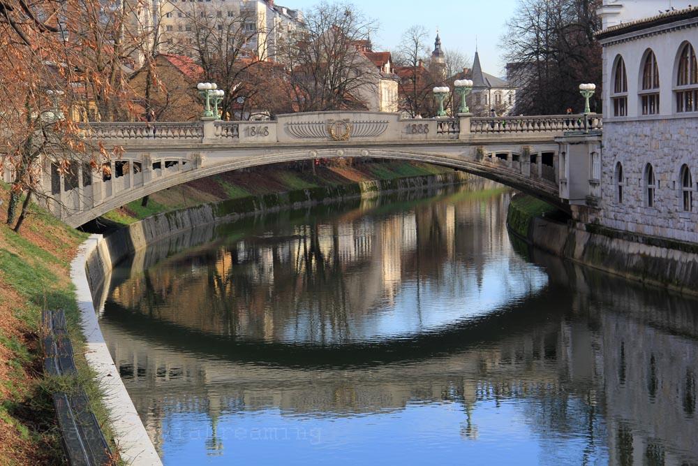 Le pont aux dragons de Ljubljana