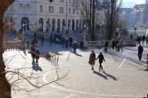 Place dédiée au poéte SlovènePleseren au centre de Ljubljana