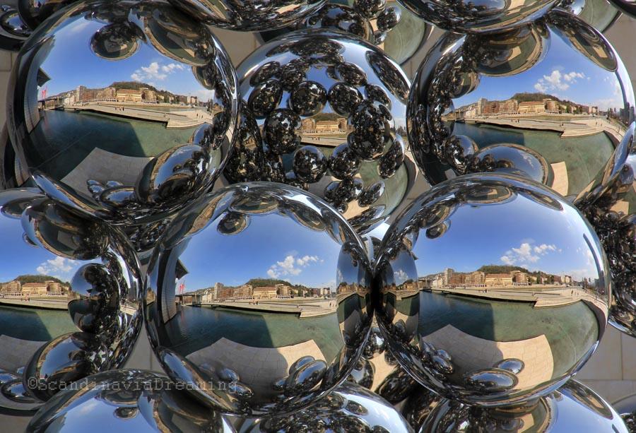 Reflexion à Bilbao
