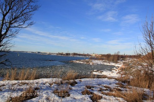 Au bout de Suomenlinna