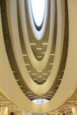 Bibliothèque universitaire d'Helsinki, puits de lumière
