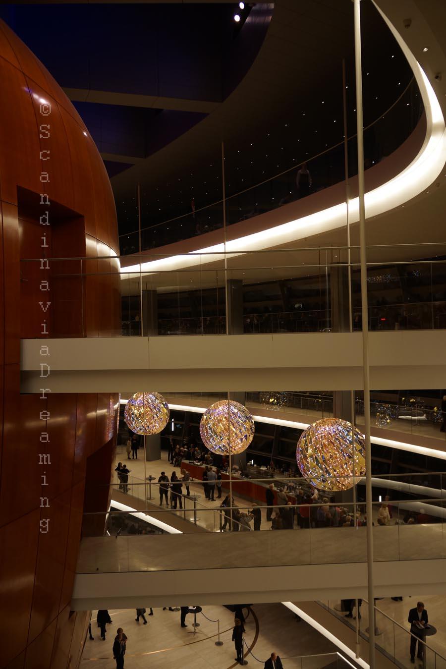 Opéra de Copenhague, intérieur