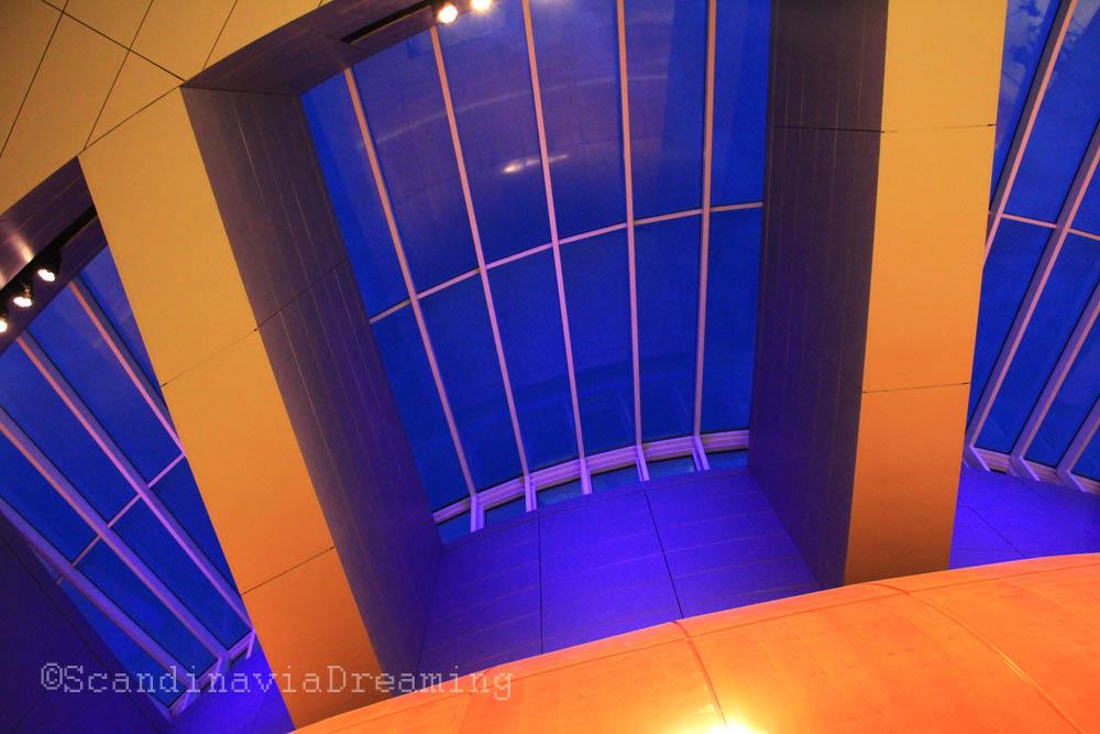 Plafond de l'opéra de Copenhague