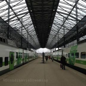 Quai de la gare d'Helsinki