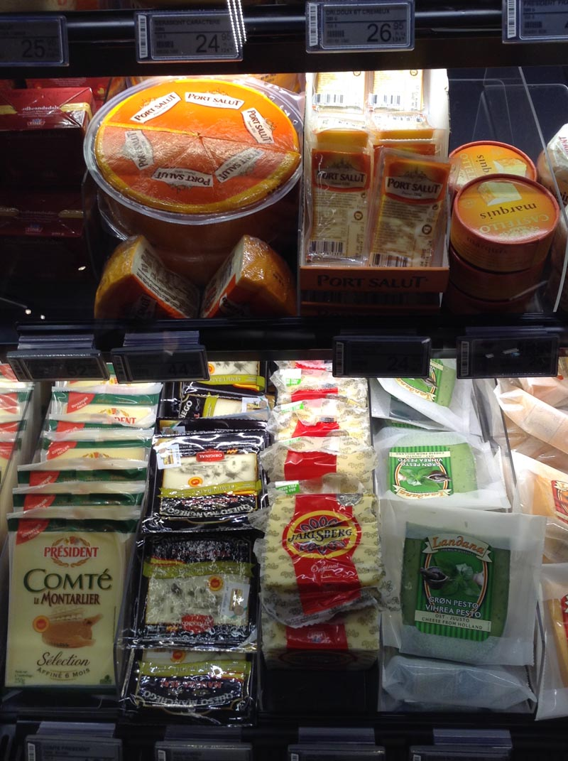Rayon fromage