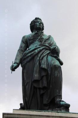Statue de Mozart à Salzbourg