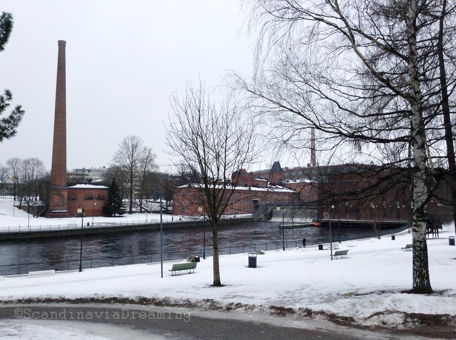 Les deux lacs de Tampere