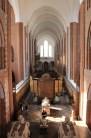Nef de la cathédrale de Roskilde vue du choeur