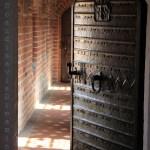 Porte du passage vers le choeur de la cathédrale de Roskilde
