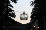 Rue d'Ajaccio au soleil couchant