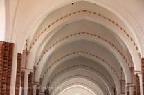 Voûtes d'un bas-côté de la cathédrale de Roskilde