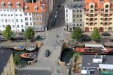 Christianshavn vue d'en haut