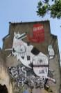 Fresque du voyage à Nantes 2012