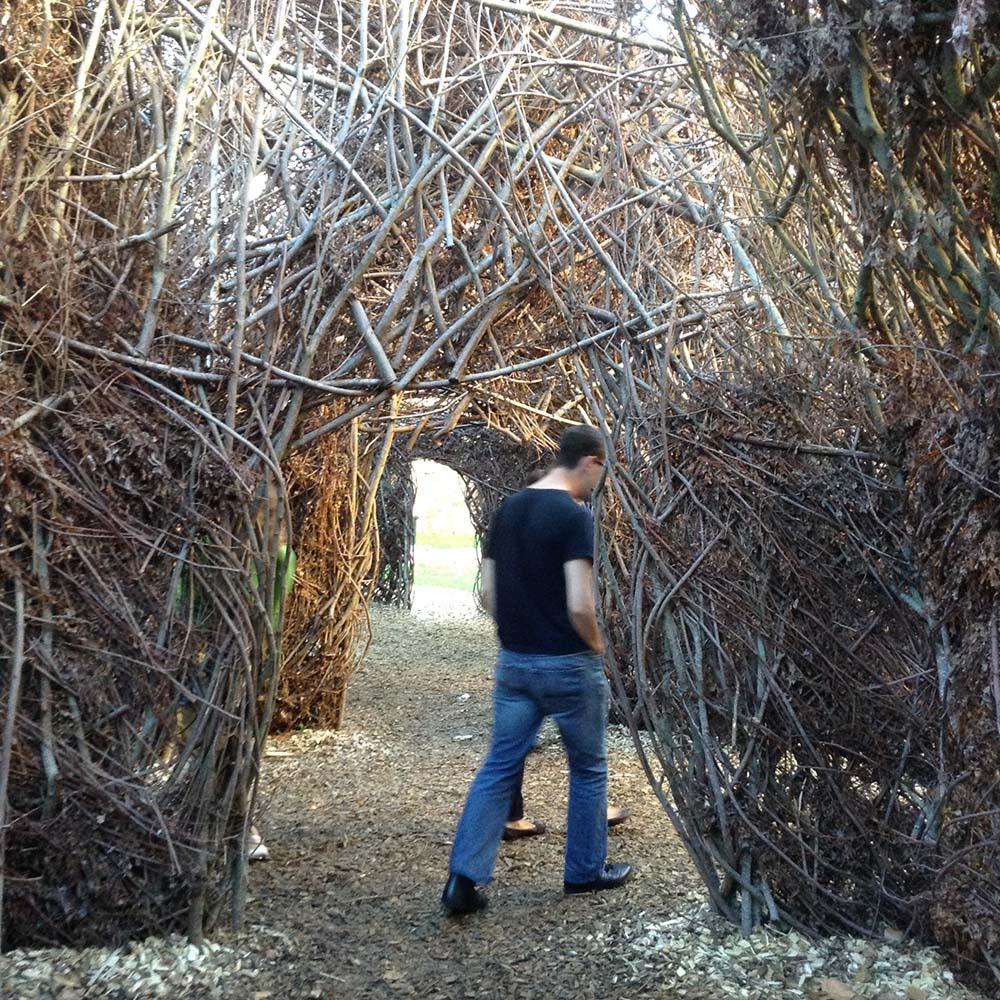 Le labyrinthe du château