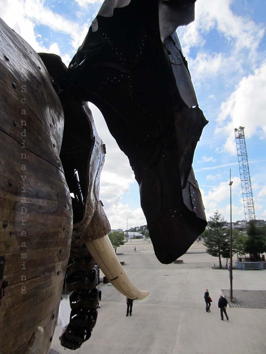 Sur l'élephant de Nantes