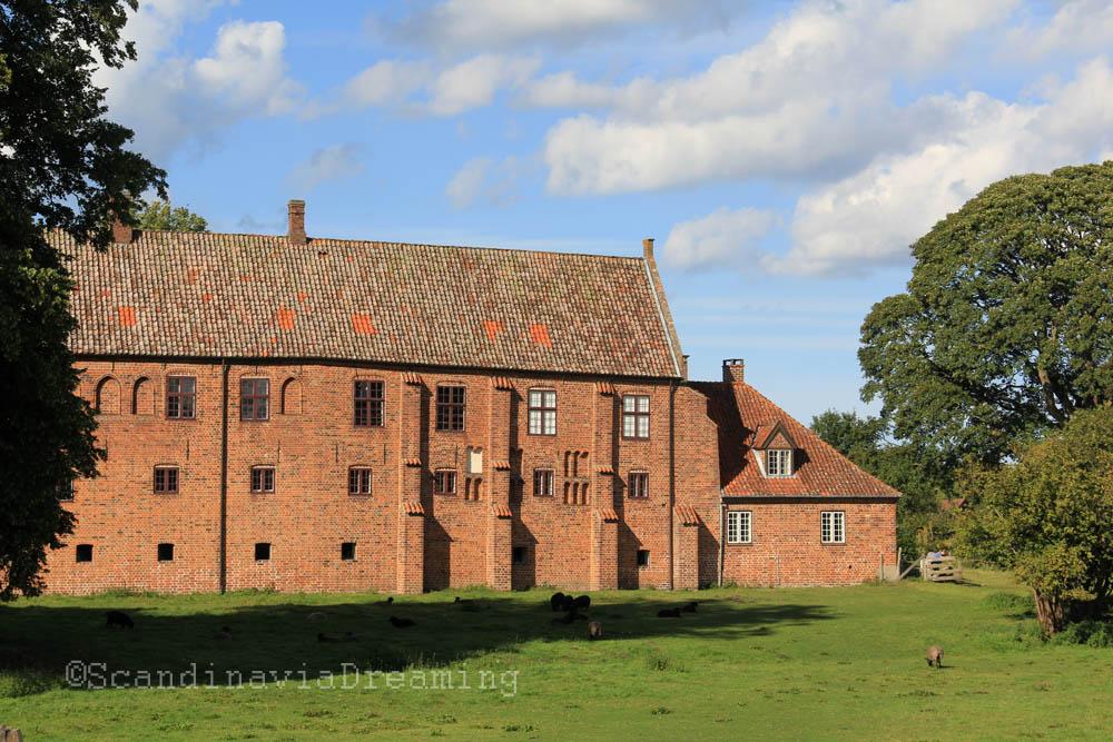 Abbaye d'Esrum au nord de Copenhague